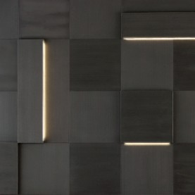 Tiles Augmented Texture serie Striped Led