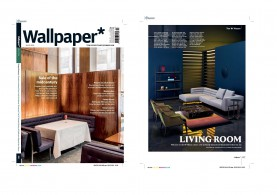 Botero sofa of the Zanotta collection @ Wallpaper Magazine