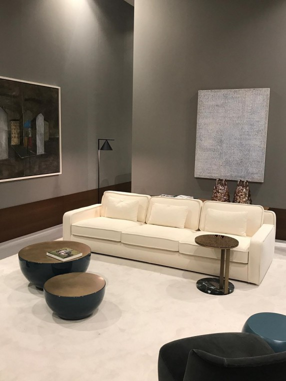 Meridiani booth at Maison&Objet 2019
