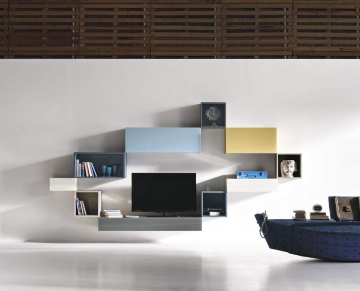marchi lago librerie contenitori 36e8 equipe. Black Bedroom Furniture Sets. Home Design Ideas